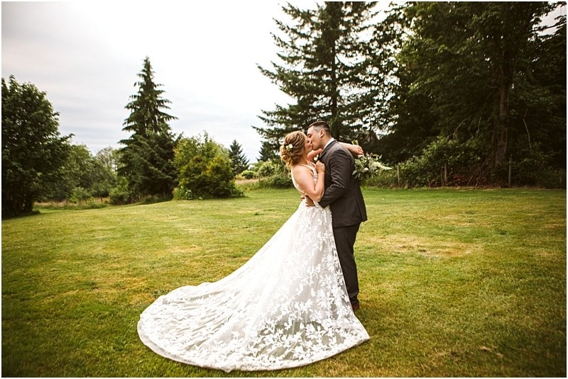 Elegant Woodland Wedding | Snohomish