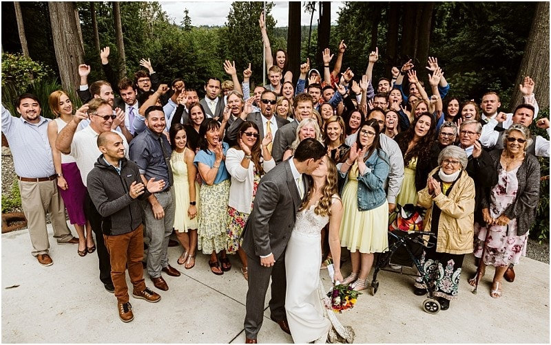 Vows & Volleyball | Lookout Lodge Outdoor Wedding