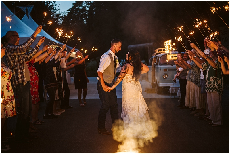A Rustic Wedding | The Lookout Lodge